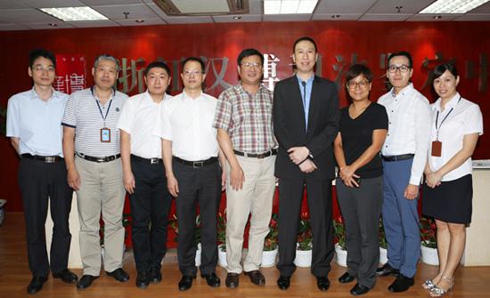 热烈欢迎香港律政司人士莅临汉博中心考察交流